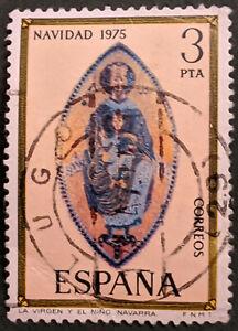 Stamp Spain SG2345 1975 3Pta Christmas Used