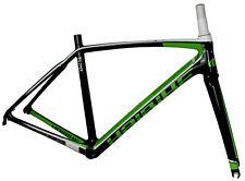 Haibike Challange 8.20 Rennrad Carbon Rahmen + Gabel schwarz/weiß/grün RH49