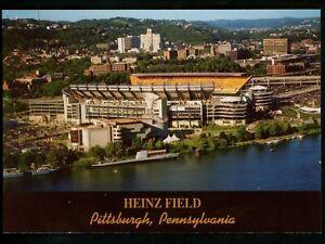 Sports Stadium postcard Pennsylvania PA Pittsburgh Heinz Field Steelers football