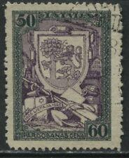 Latvia 1925 50 + 60s Semi-Postal used