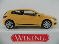 Wiking 007302 VW Scirocco III (2008) in sonnengelb 1:87/H0 NEU/OVP