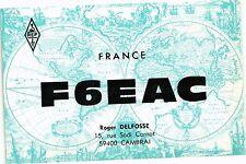 CPA  France F6EAC - Roger Delfosse 15 rue Sadi Carnot 59400 Cambrai     (204983)