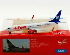 """Herpa 527910 - 1:500: Lion Air Boeing 737-900ER  """"60th Boeing 737-900ER"""" - NEU"""