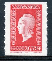 STAMP / TIMBRE FRANCE NEUF N° 3841 ** MARIANNE DE DULAC EMIS EN CARNET ADHESIF