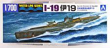 Aoshima Waterline 52082 IJN Submarine I-19 1/700 scale kit