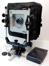 Calumet Cambo grand format 5x4 Film Monorail Camera SCHNEIDER ANGULON 90 mm Lentille