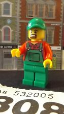 NEW -LEGO City-FARMER BURT    REF 308- mini figure