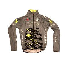 Men's 2019 Hincapie Racing Team Element eVent Thermal Jacket, Silver, Size S EUC