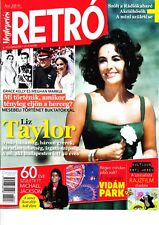 LIZ TAYLOR,  GRACE KELLY, MICHAEL JACKSON, HARRISON FORD Hungarian  magazine