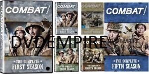 Combat The Complete DVD Series Seasons 1,2,3,4,5 New Sealed Australian Release