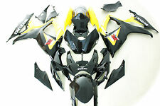Aftermarket ABS fairings fit for Suzuki gsxr600/750 06-07 2006 2007 Yellow black