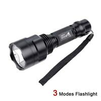 Q5 7000LM LED Flashlight Torch 18650 Battery Police Torch Camping Light ZH