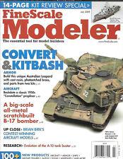 Fine Scale Modeler July 09 Aussie Leopard B-17 A-10 Thunderbolt Warthog USS Gato