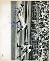 Davey Lopes JSA Coa Hand Signed 8x10 1970`s Photo Autograph