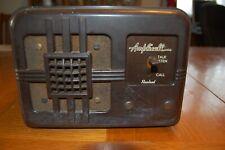 New listing Antique Vintage Rauland Amplicall Intercom Type W-100-Sx Rauland Corporation