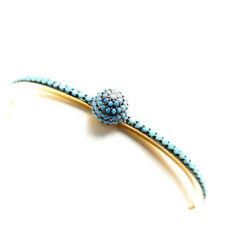 Türkis Modeschmuck-Armbänder aus Messing