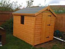"""WOODEN GARDEN SHED 6X4 13MM T/G 2X2 CLS FRAMING 1"""" THICK FLOOR"""