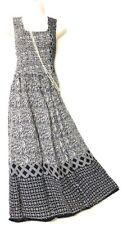 Viscose Long Boho Maxi Dress Sleeveless Party Evening Size 14 16 18 20 22 24