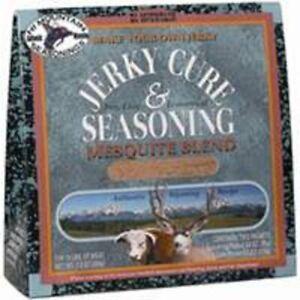 Hi Mountain Mesquite Jerky Cure Seasoning 7.2 Oz - Make Your Own Jerky