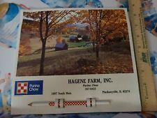 1987 Purina Farms Pinckneyville Illinois Hagne Farm Calendar