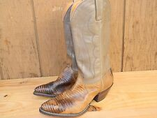 1980's Chisholm Western Boots / Us Woman size 8M / Used / Good Condition