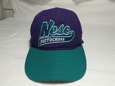 2006 Nesc Motocross Baseball Hat Snapback Made in the USA MOTOLIDS