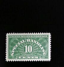1928 10c Special Handling, Yellow Green Scott QE1 Mint F/VF NH