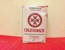 Cruz de Malta Yerba mate half kg or 1.1 lb: Argentina