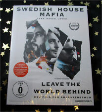 SWEDISH HOUSE MAFIA - LEAVE THE WORLD BEHIND  *Blu-Ray* LIMITIERT EXTRAS NEU/OVP