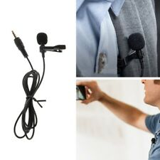 Clip-On Omnidirectional Condenser Wired Microphone For Laptop PC Smart Phone
