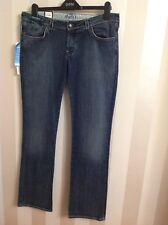 "MAVI Straight Jeans ""Olivia Low-Rise Straight-Leg"" Midnight Size-32/34 BNWT (ST)"