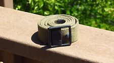 WW2 USMC Marine Corps Five Snap Khaki T-7 Mine Pouch Belt w/ Buckle Field Gear