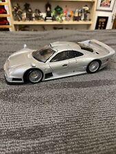 Maisto Mercedes Benz CLK GTR Street Version Silver 1:18 Diecast Car