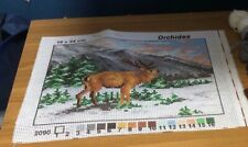 Orchidea Tapestry Kit- Stag in a Forest