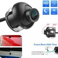 360° HD Car Rear View Reverse Back up Camera Waterproof Night Vision For Display