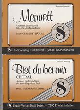 Konzertmusik für Blasorchester - 2 Notenausgaben