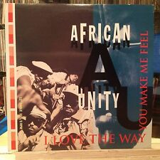 "NM 12""~AFRICAN UNITY~I Love The Way You Make Me Feel~[x5 Mixes/Remixes]1991 TABU"