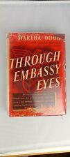 Through Embassy Eyes Hardcover 1940 by Martha Dodd Ambassador to Nazi Germany