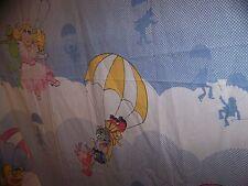 Vintage The Muppets The Great Muppet Caper Flat Twin Sheet Kermit Fozzie Gonzo