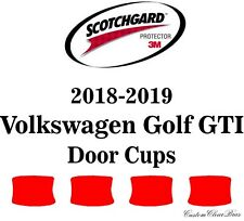 3M Scotchgard Paint Protection Film Clear Pre-Cut 2018 2019 Volkswagen Golf GTI