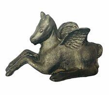 Pegasus figurine pewter metal miniature vtg winged horse dungeons dragon Titan 2