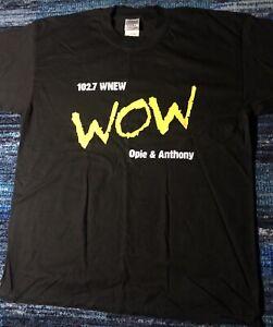 Opie & Anthony WNEW WoW Black Shirt. Size: XL