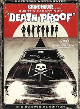 Death Proof ~ Extended Unrated 2-Disc Special Edition DVD Set ~ FREE Shipping