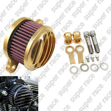 Air Cleaner Intake Filter System Kit for Harley Sportster Xl883 1200 Iron 883