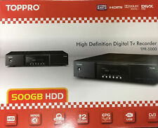 TOPPRO by TOPFIELD TPR-5000 PVR Digital TV QUAD Recorder With 500GB