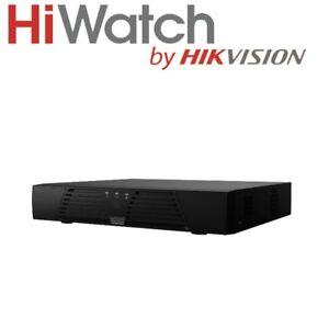 Hiwatch by Hikvision 6TB MAX 4 Ch 1080P HD 2MP TVI/AHD/CVI/CVBS CCTV DVR-204G-F1