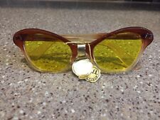 c3e7b40749 Vintage 1960s sunglasses night vision lunettes cat eye Very rare w original  tags