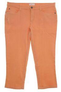 sheego Hose Caprihose Sommerhose 3/4 Jeans Slim Fit Damen Plusgröße Stretch