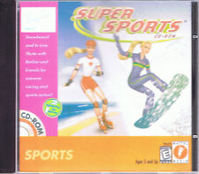 Barbie Super Sports CD-ROM (PC, 1999, Mattel Media)