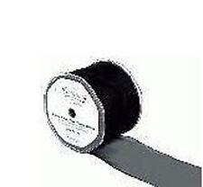 Rouleau de Transparent Organza Filaire Ruban noir 70mm x 20M